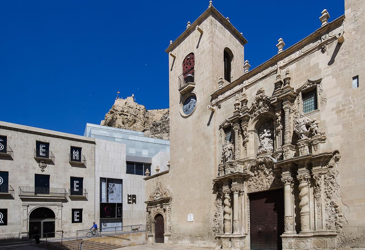 que ver en alicante en 3 dias Basílica Santa María