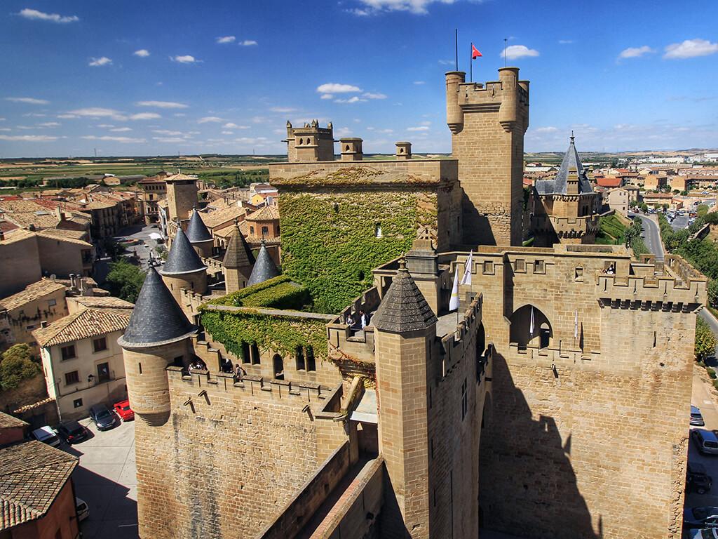 que ver en pamplona y provincia Castillo de Olite