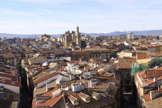 que ver en pamplona de noche El Casco Viejo de Pamplona