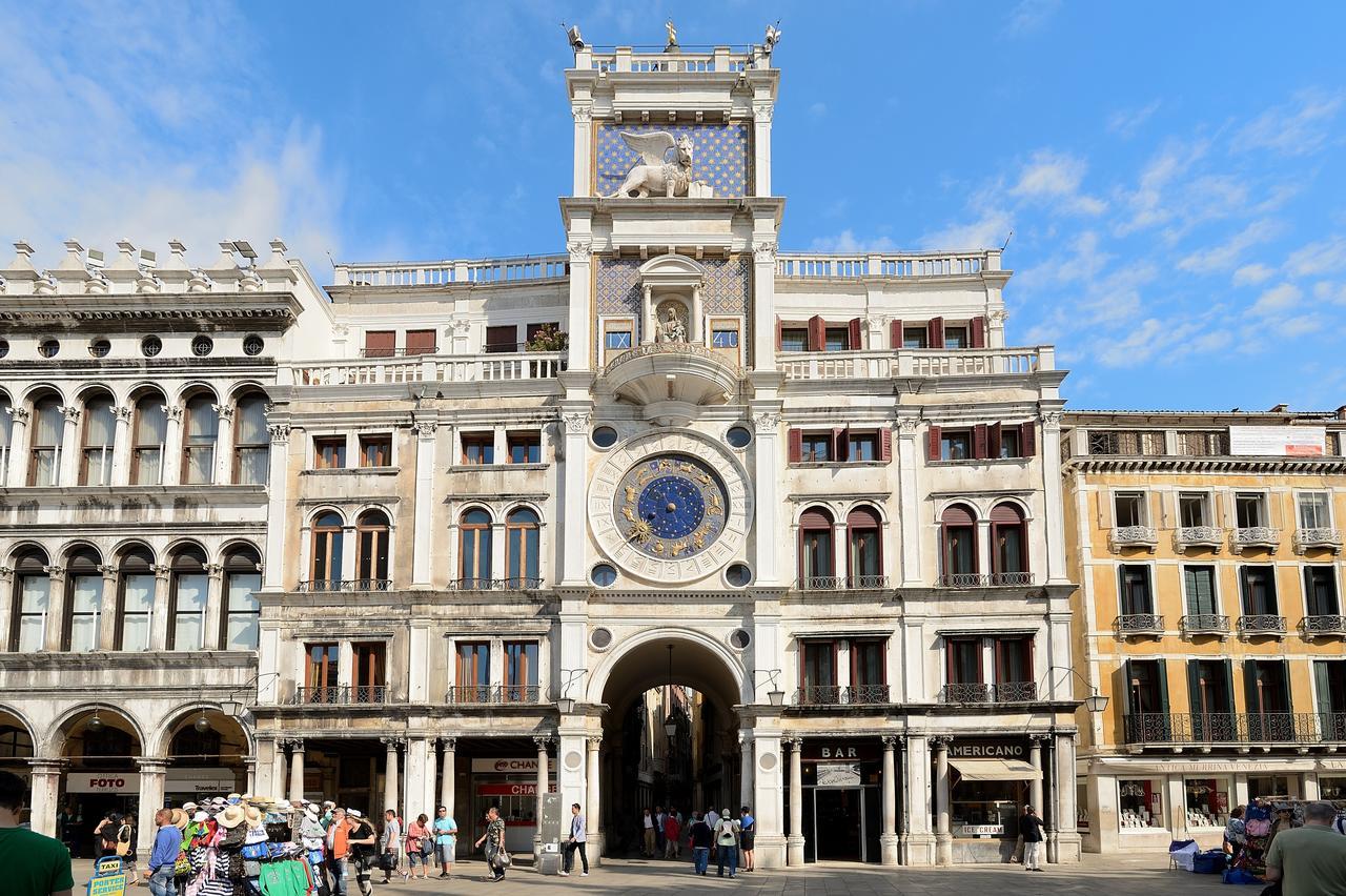 lugares a ver en venecia La Torre dellOrologio