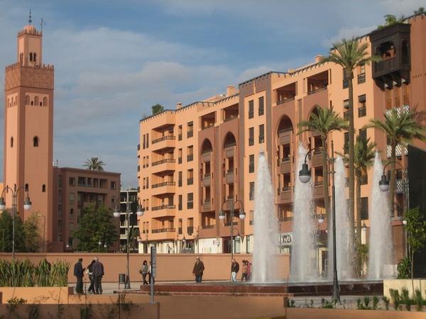 que ver cerca marrakech la ville nouvelle
