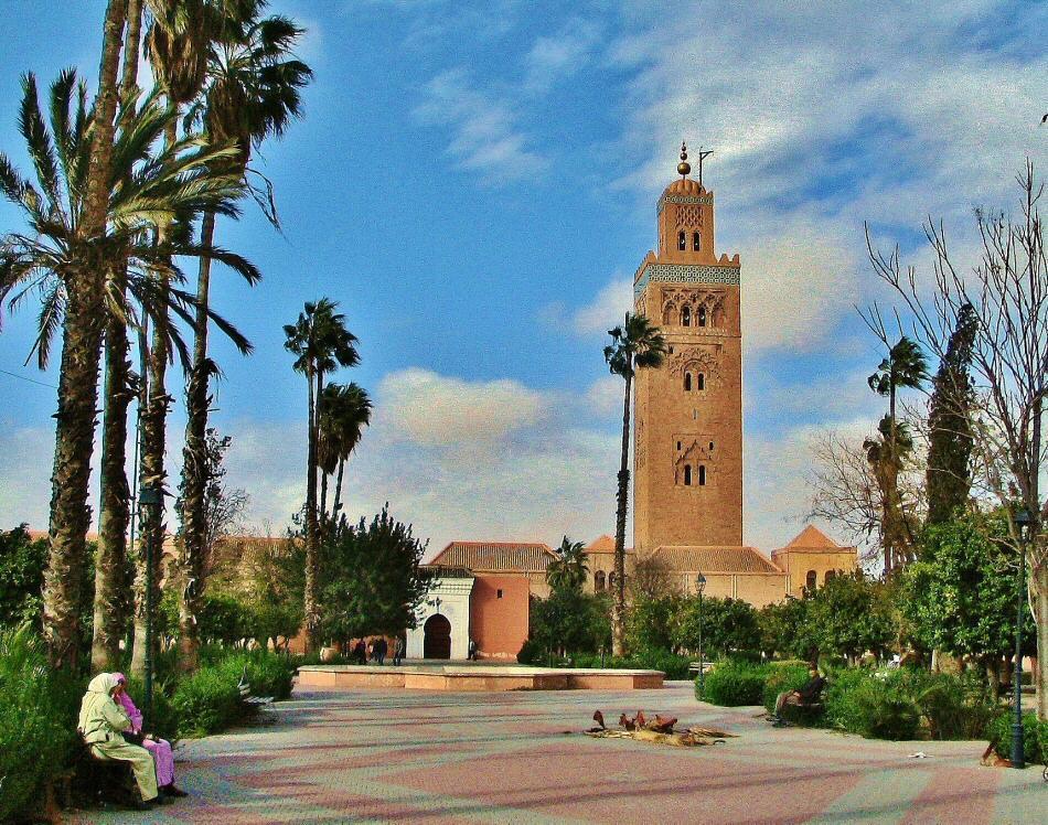 cosas q ver en marrakech mezquita