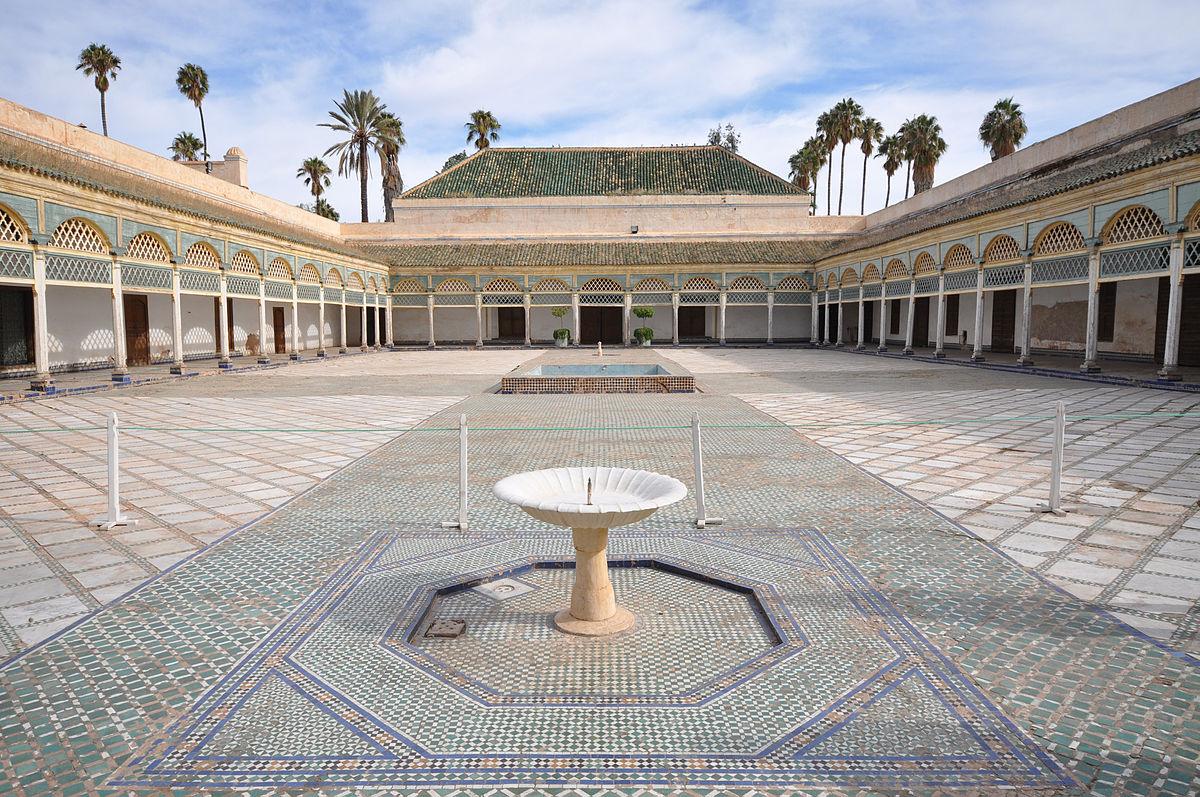 que ver en marrakech 3 dias palacio de la Bahia