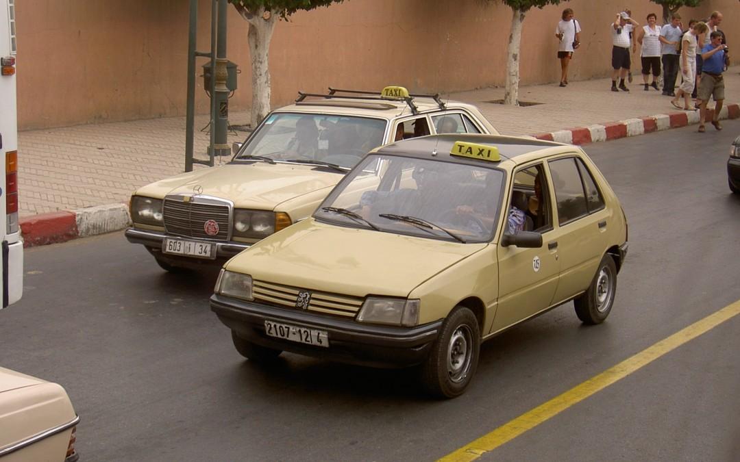 que ver en marrakech fin de semana taxis