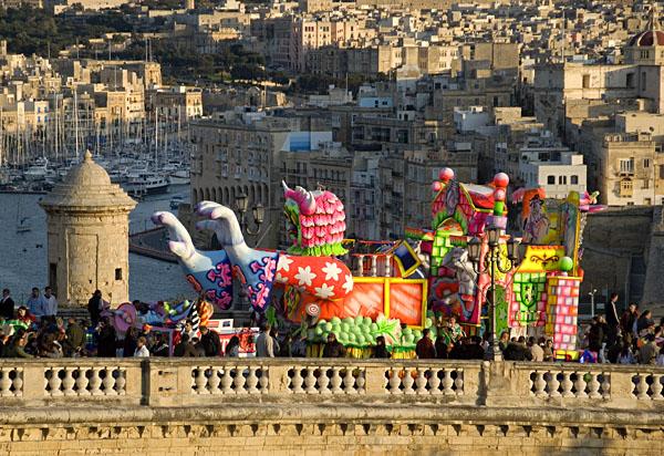 que ver en malta y alrededores carnavales