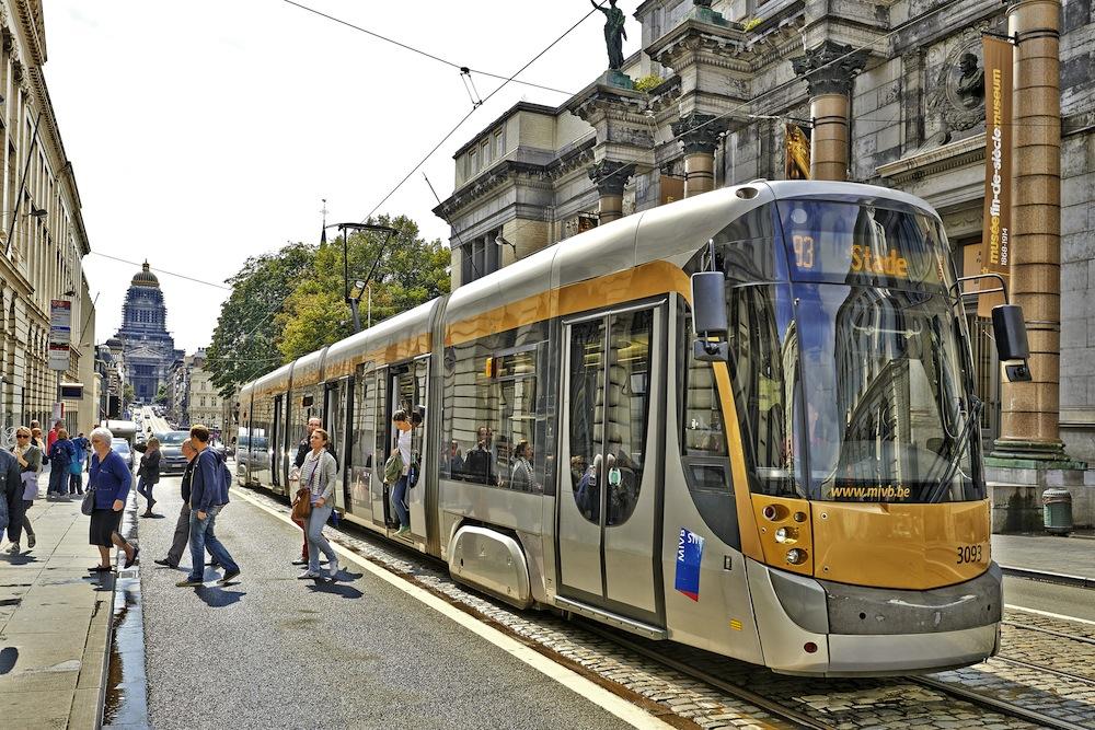 medios de transporte en bruselas