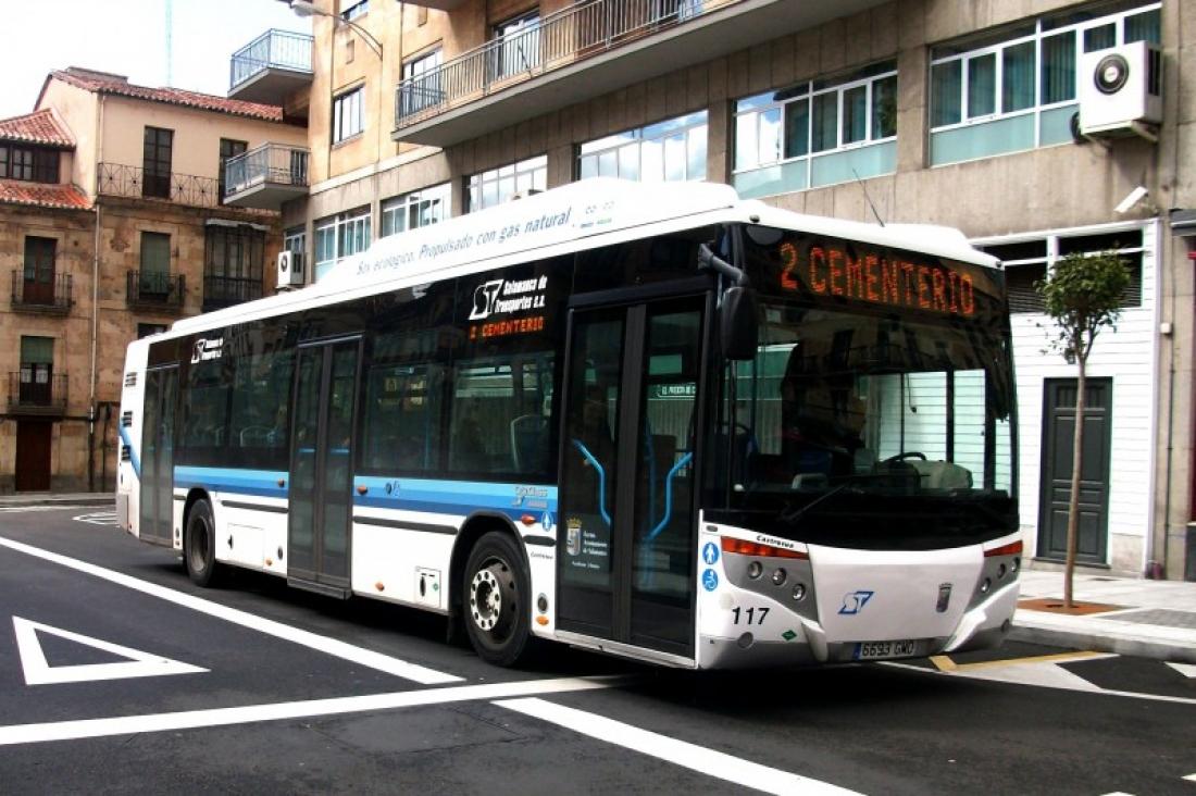 autobuses en salamanca