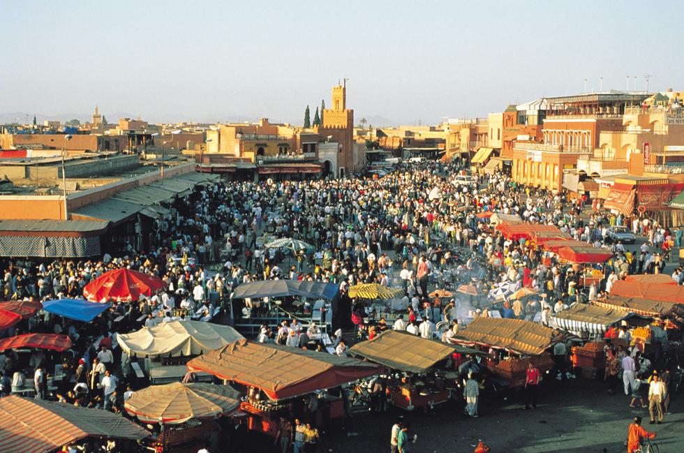 que ver en marrakech en 4 dias