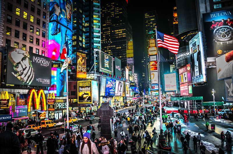 que ver en nueva york curiosidades times square noche