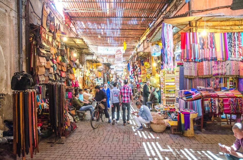 que ver en marrakech gratis Zocos