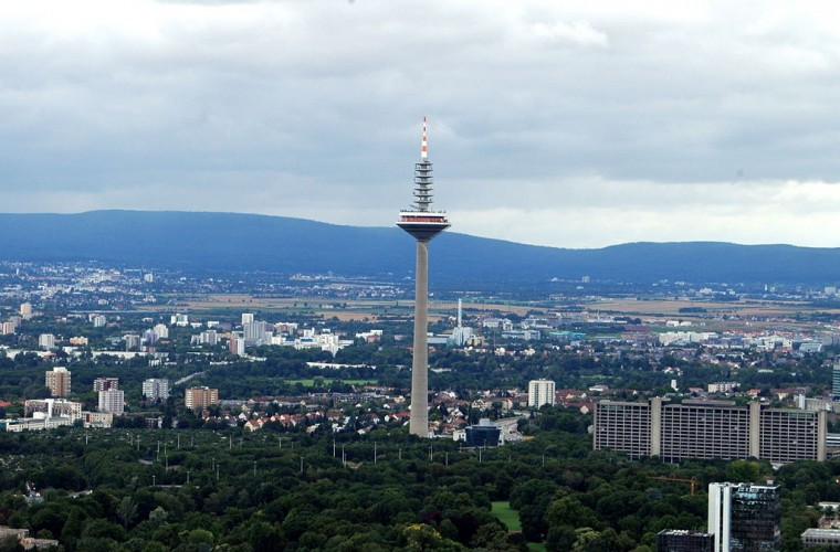 que ver en frankfurt en 2 dias Europaturm