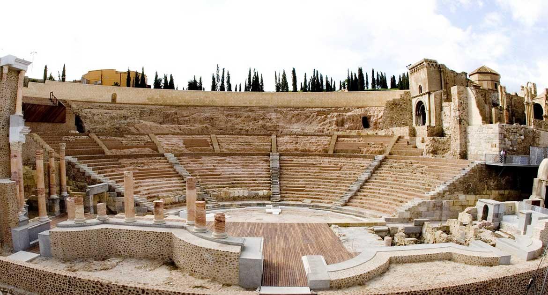 que ver en la union cartagena Teatro Romano