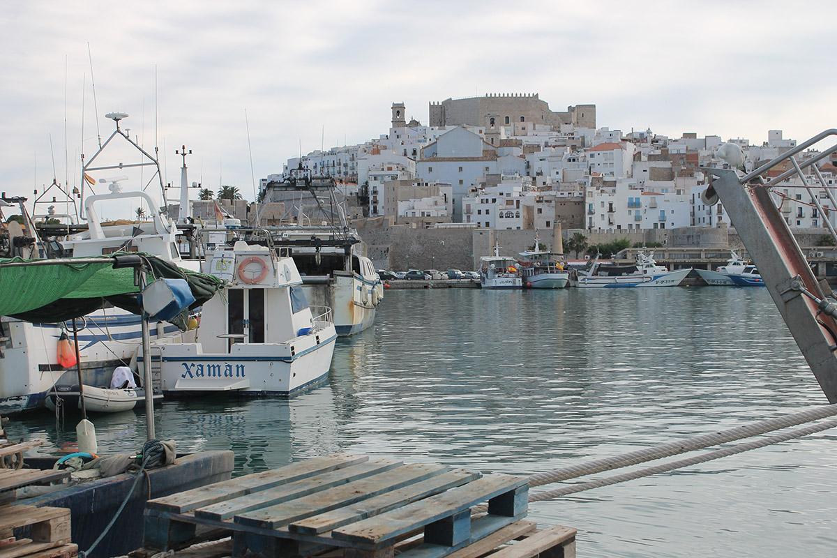 que ver en el castillo de peñiscola puerto