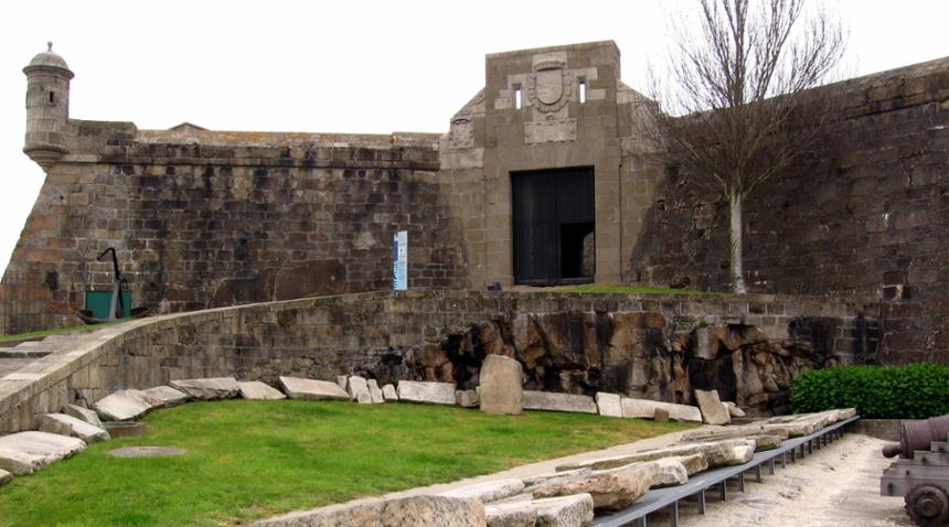 que ver en a Coruña castillo de san anton