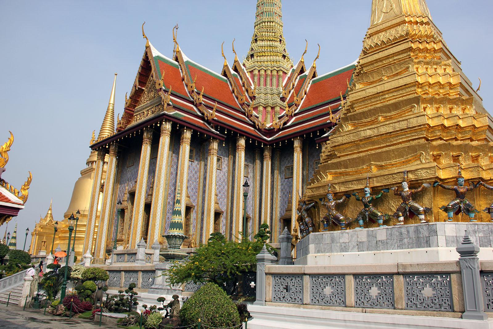 que ver en bangkok 4 dias Palacio
