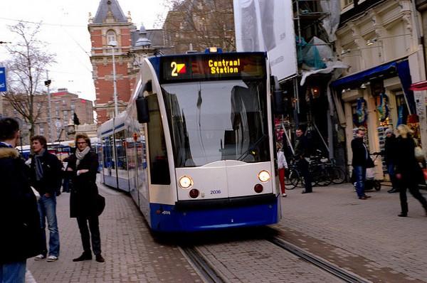 medios de transporte en amsterdam