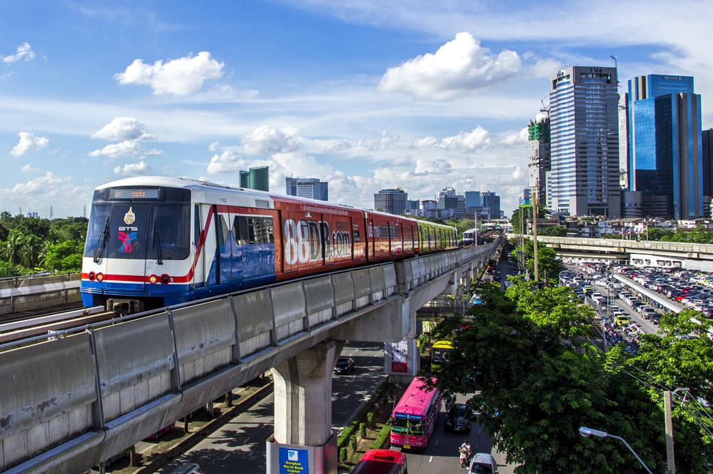 que ver en bangkok en 1 dia skytrain