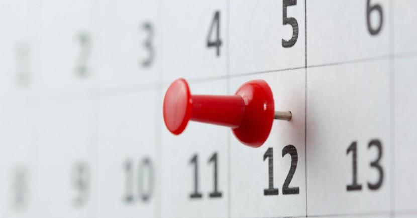 calendario festivo dubrovnik 2019