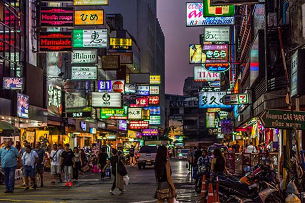 que ver a bangkok
