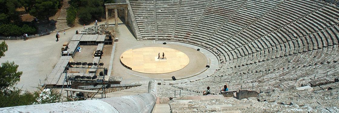 que ver en grecia central