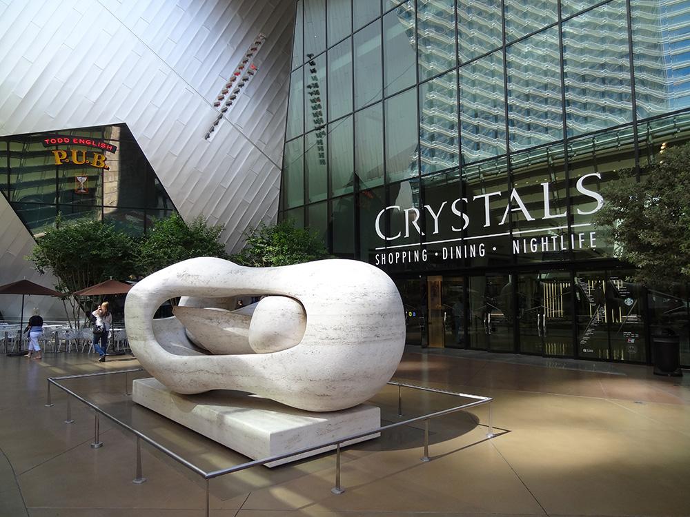que ver en las vegas y alrededores Crystals