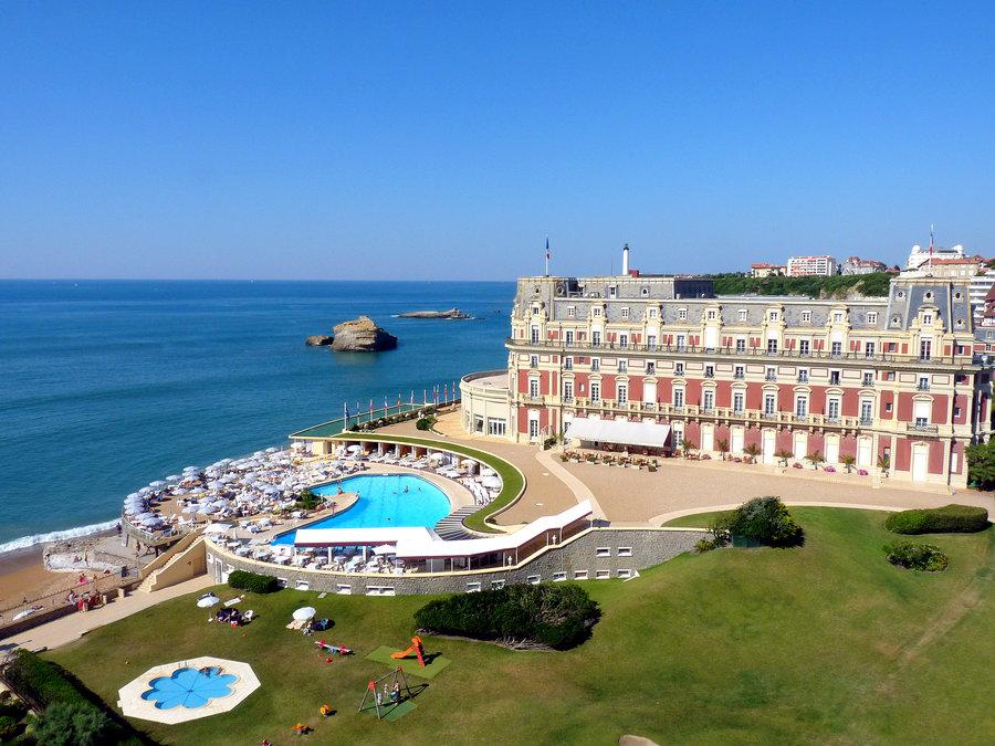 que ver en biarritz 1 dia Hotel du palais