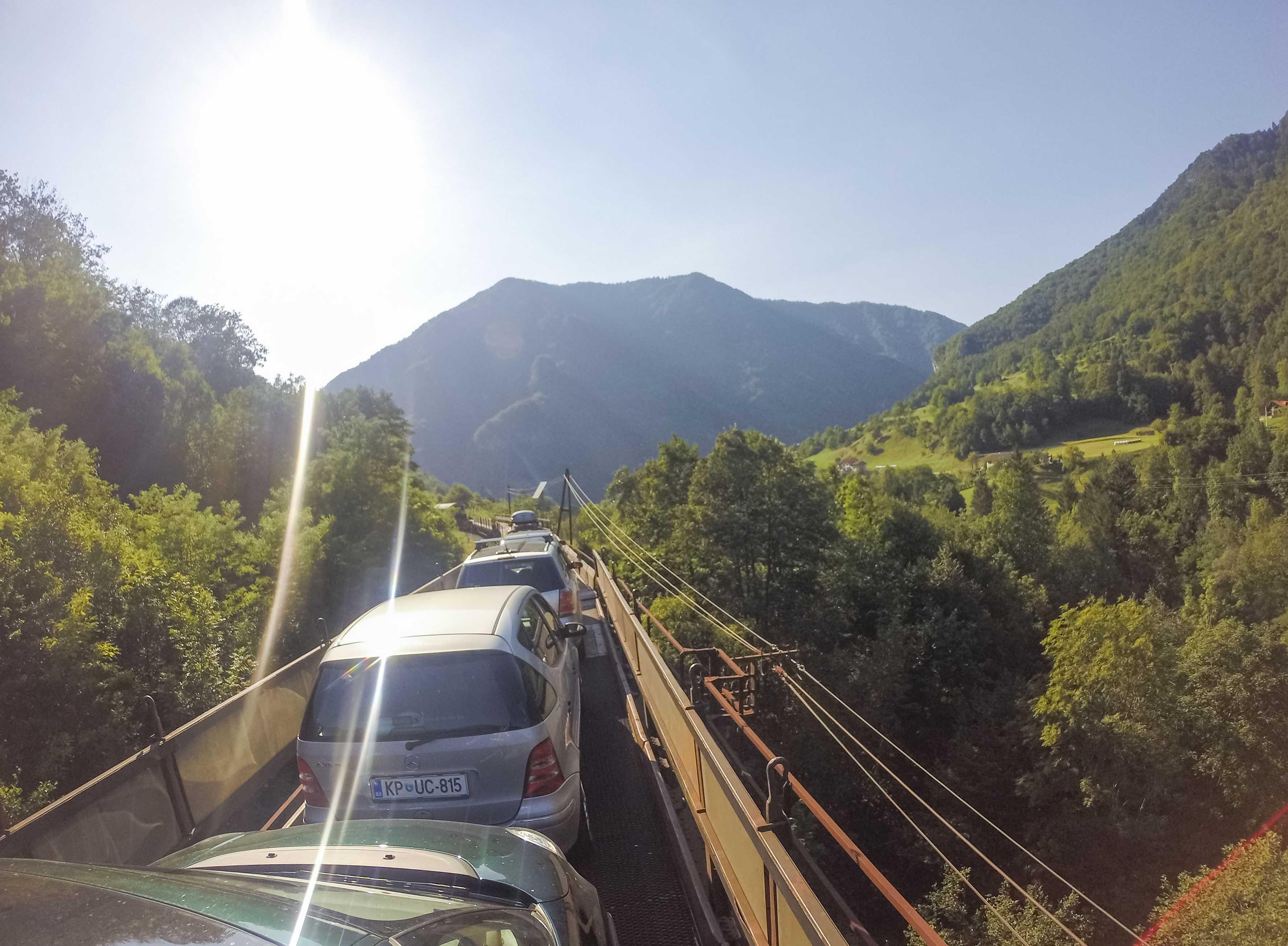 moverse por eslovenia
