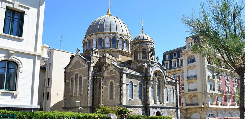 que ver cerca biarritz ilesia ortodoxa