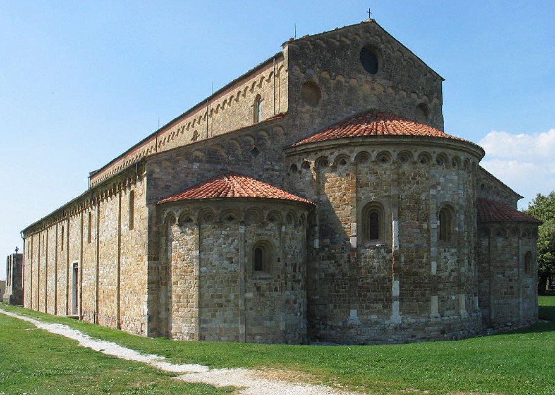 Que ver en Italia Roma Basilica San Piero a Grado