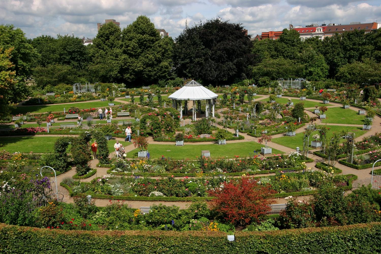 que ver en Alemania Hamburgo parque planten un Blomen