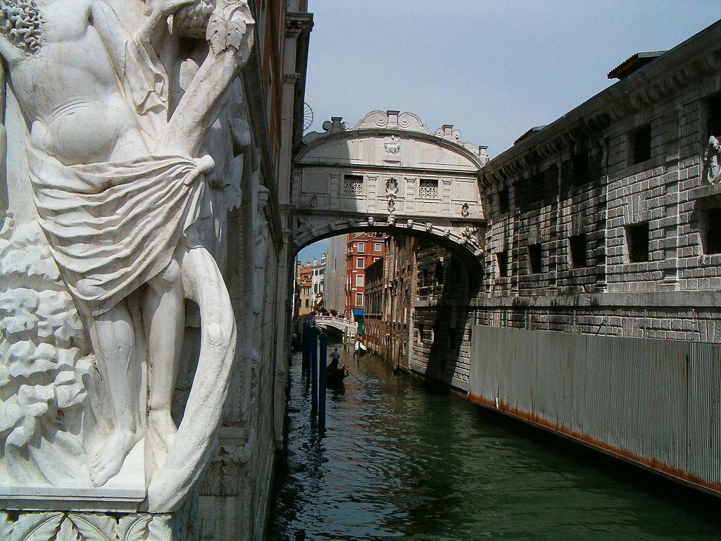 Que ver en Italia Venecia puente de los suspiros