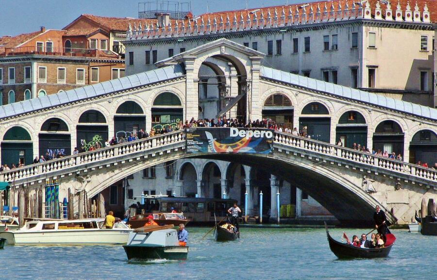 Que ver en Italia Venecia puente Rialto