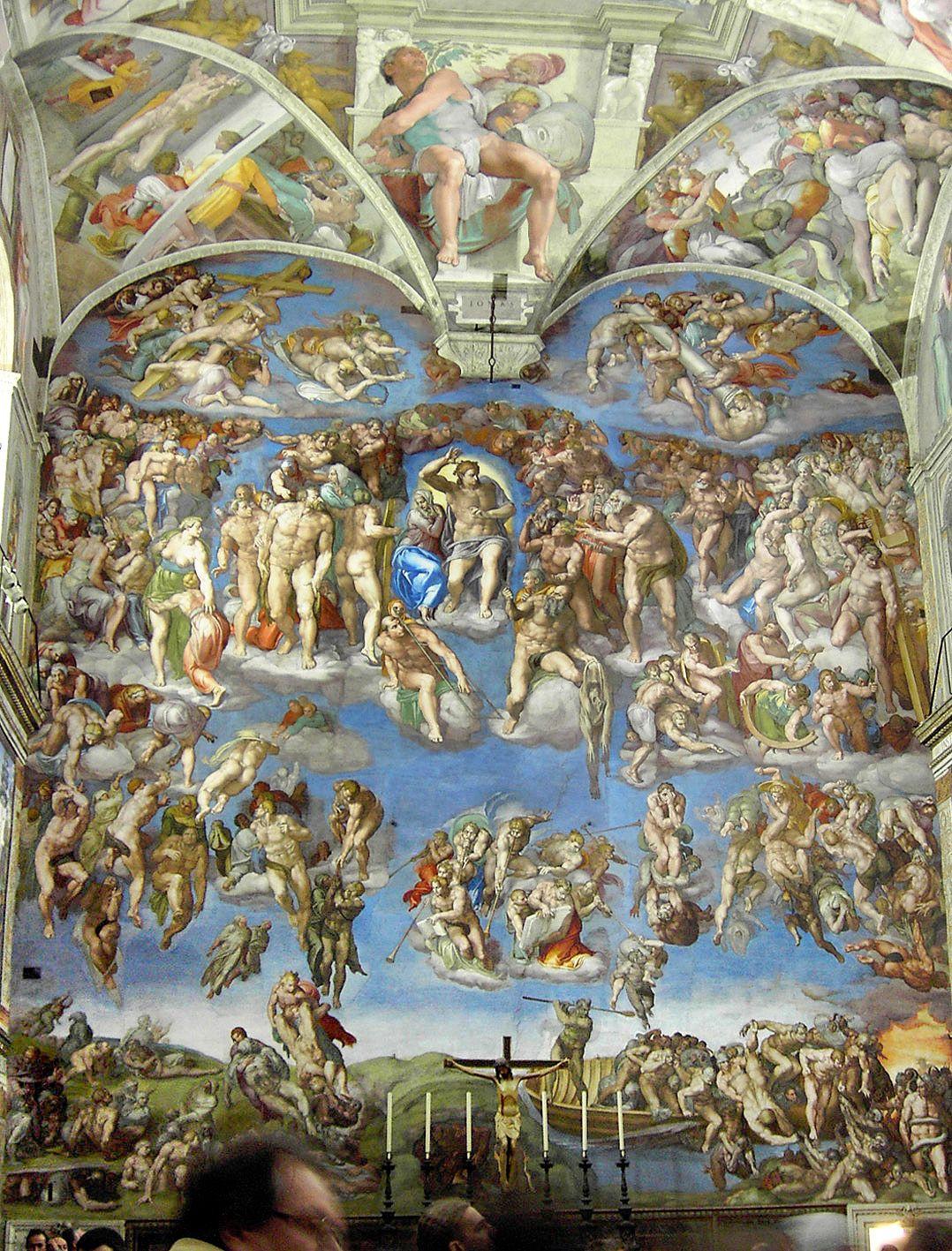 Que ver en Italia Roma capilla sixtina