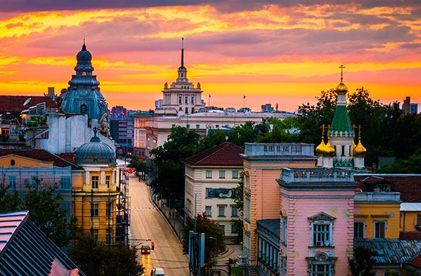 que tiempo hace en bulgaria