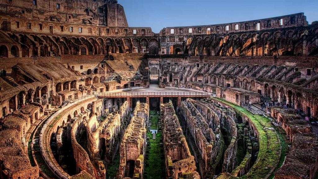 Que ver en Italia Roma coliseo romano