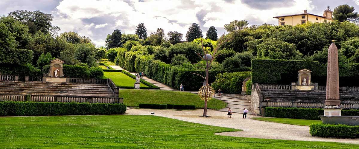 Que ver en Italia florencia jardines boboli