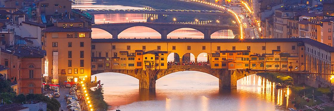 Que ver en Italia florencia ponte vecchio