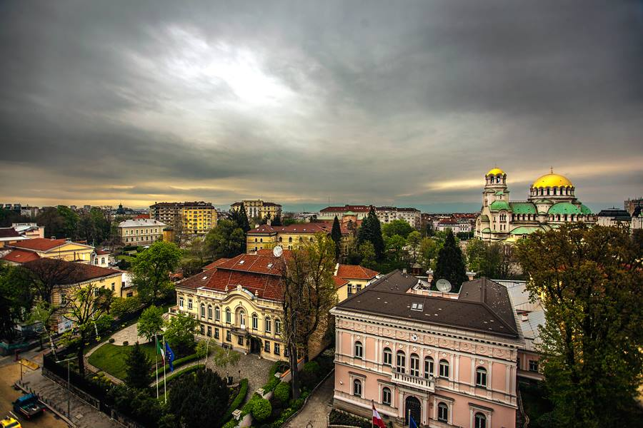 clima que hace en bulgaria