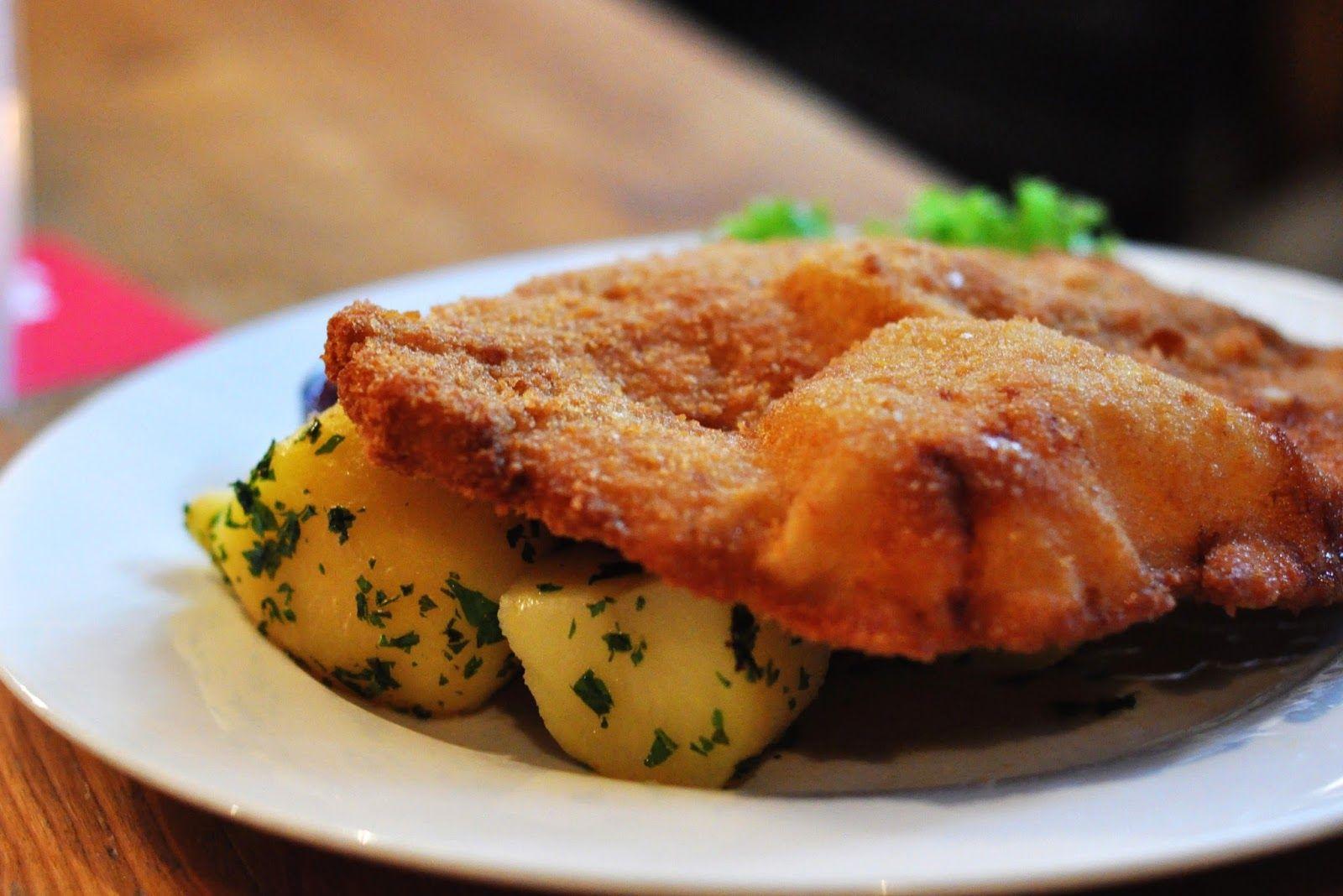 que ver en la region de Salzburgo Schnitzel comida