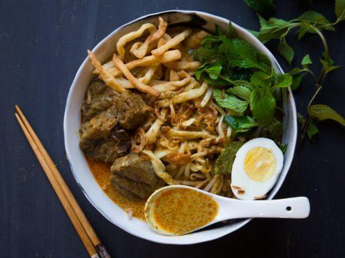 5 platos tipicos de chiang mai