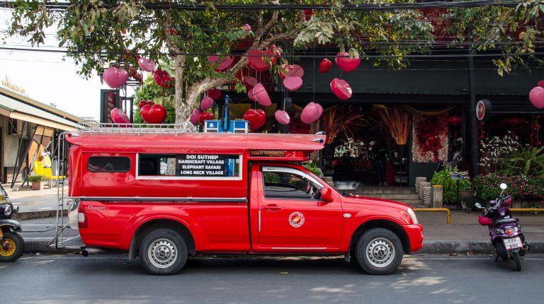 transporte en chiang mai