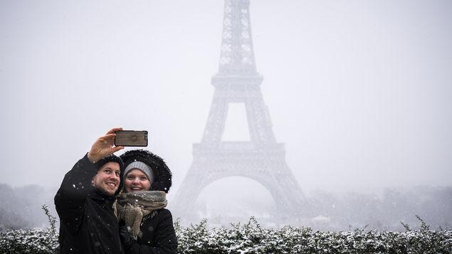 que clima hace en francia