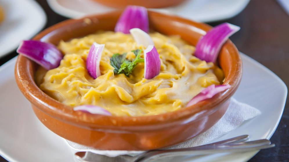 platos tipicos en puerto de la cruz