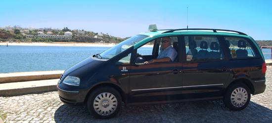 taxis en portimao