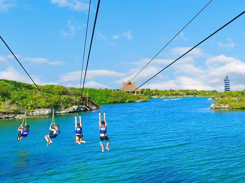 sitios turisticos en riviera maya niños