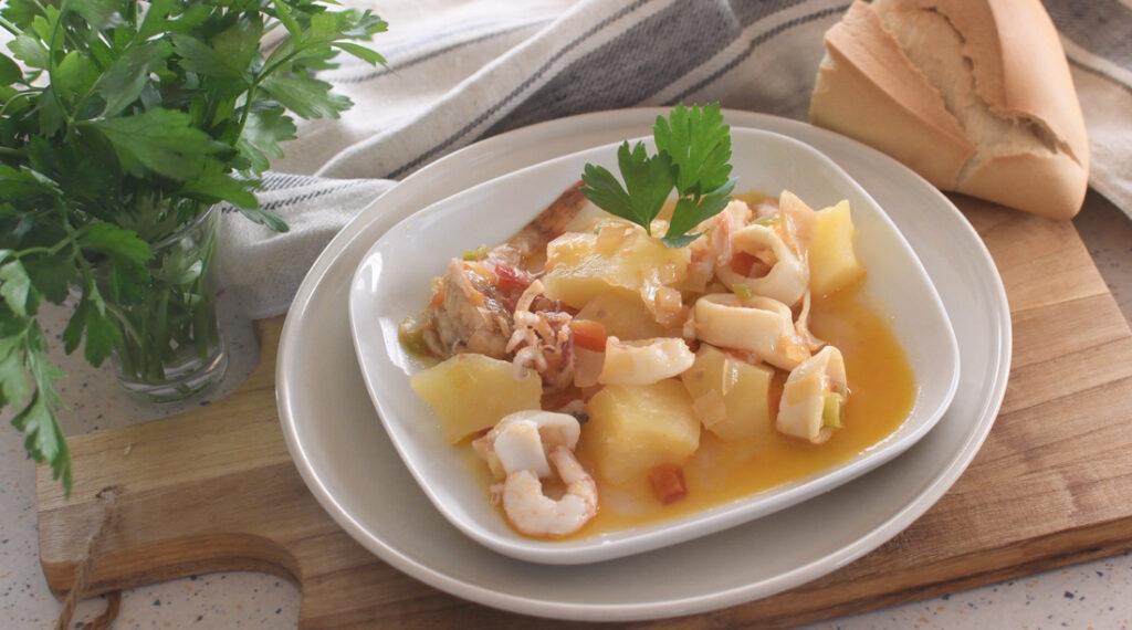platos tradicionales en punta umbria